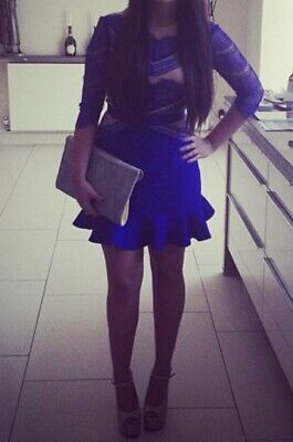 Royal Blue Boutique Dress Size 8 Worn Once • 13£