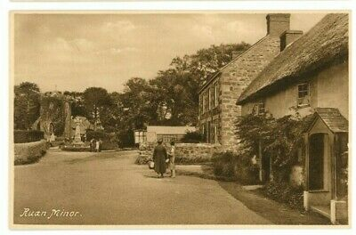 £14.99 • Buy POSTCARD Ruan Minor Unused Printed By Local Stationer M J Mitchell Of Cadgwith 2