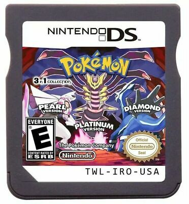 AU22.50 • Buy For Nintendo 3DS/DSI NDS NDSL Lite Pokemon Platinum Pearl Diamond Game Card