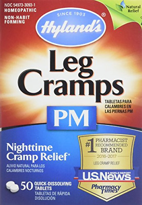 $ CDN44.40 • Buy Hyland's Leg Cramps PM With Quinine Tablets 50 Ea  Pack Of 4