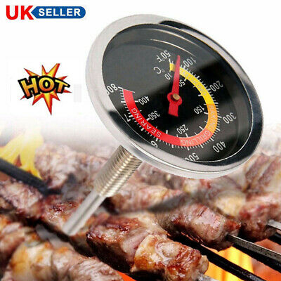 £4.85 • Buy 50-400℃ Stainless Steel Thermometer Temperature Gauge Barbecue BBQ Smoker Grill