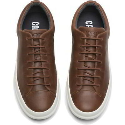£69.99 • Buy Camper Chasis Sport Hoops Mens Brown Leather Lace Up Trainers Shoes Size UK 8-12