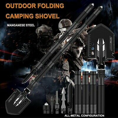 $42.99 • Buy Military Folding Shovel Survival Tactical Emergency Outdoor Camping Hunting Tool