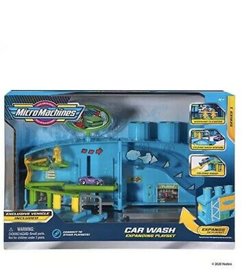 £20.49 • Buy Micro Machines Core Playset, Car Wash Station - Expandable And Connectable To MM