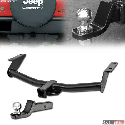 $142 • Buy For 02-07 Jeep Liberty Class 3/Iii Trailer Hitch Tube+2  Ball Towing Mount Kit