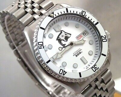 $ CDN50.13 • Buy Seiko Silver Shark MarineMaster Day Date Automatic Divers Watch SKX007 7S26-0020
