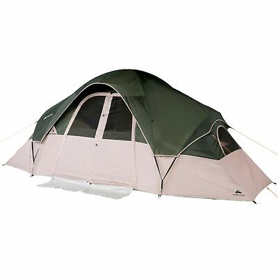AU181.71 • Buy Ozark Trail 8-Person 2-Room Modified Dome Tent, With Roll-back Fly