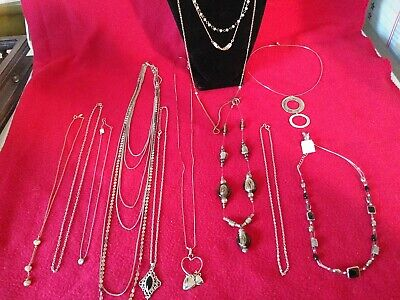 $ CDN15.62 • Buy Fashion Jewelry Lot Of 10 Necklaces 1 Lia Sophia New With Tags, Napier, Avon 💥