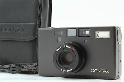 $ CDN3132.99 • Buy [Top MINT] Contax T3 D T3D Double Teeth Titanium Black Film Camera  From JAPAN
