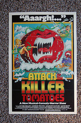 $ CDN3.76 • Buy Attack Of The Killer Tomatoes Lobby Card Movie Poster