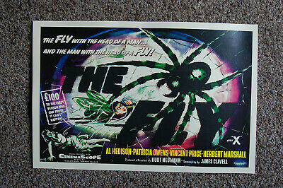 $ CDN5.01 • Buy The Fly Lobby Card Movie Poster Vincent Price