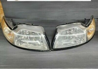 $89.99 • Buy 1999 2000 2001 2002 2003 2004 FORD MUSTANG Headlights Stock OEM Nice