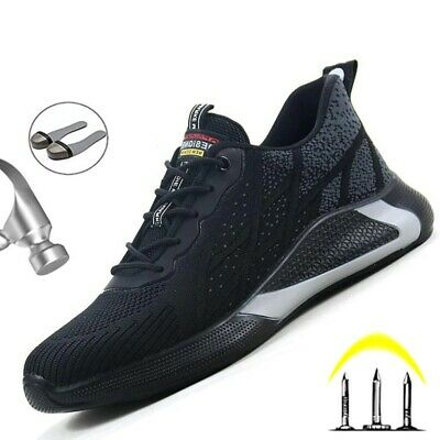AU52.43 • Buy Work Safety Shoes Men Indestructible Sneakers Work Shoes Security Steel Toe Shoe