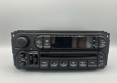 $40 • Buy 2002-2007 Chrysler Jeep Dodge Radio Stereo Unit AM FM CD Player FACTORY OEM