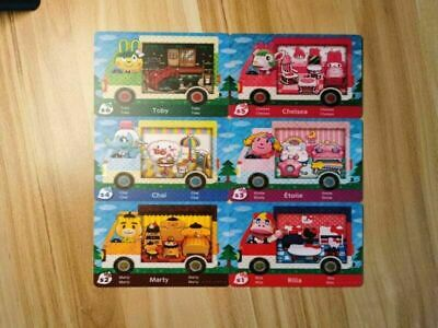 AU5.99 • Buy Animal Crossing Amiibo Cards NFC Cards All 6PACK AU POST