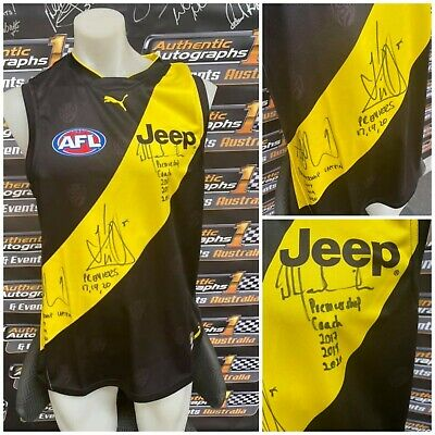 AU795 • Buy Richmond Tigers Jumper Personally Signed By Cotchin, Riewoldt & Hardwick