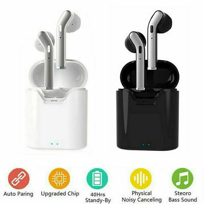 $ CDN22.55 • Buy Waterproof Bluetooth 5.0 Earbuds Headphones Wireless Headset Noise Cancelling