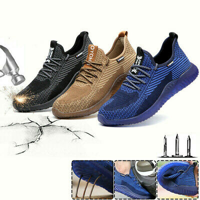 AU49.89 • Buy AU Indestructible Men's Work Safety Shoes Steel Toe Boots Hiking Sneakers Sport