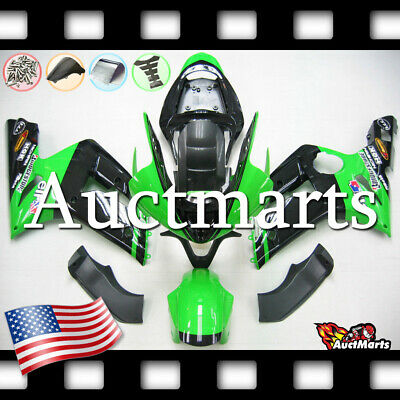 $579 • Buy For Kawasaki Ninja ZX6R 636 2003 2004 03 04 Injection Mold Fairing Kit 3a6 PE