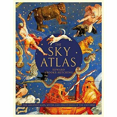 The Sky Atlas - Hardback NEW Brooke-Hitching 17/10/2019 • 20.59£