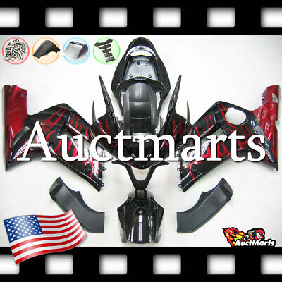 $579 • Buy For Kawasaki Ninja ZX6R 636 2003 2004 03 04 Injection Mold Fairing Kit 3a8 PE