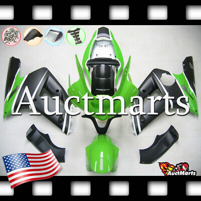 $579 • Buy For Kawasaki Ninja ZX6R 636 2003 2004 03 04 Injection Mold Fairing Kit 3a38 PE