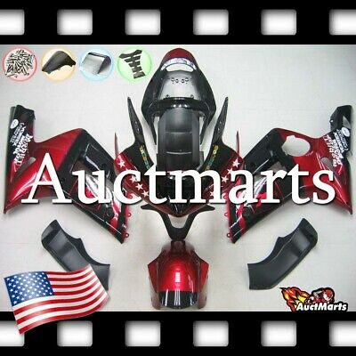 $579 • Buy For Kawasaki Ninja ZX6R 636 2003 2004 03 04 Injection Mold Fairing Kit 3a29 PE
