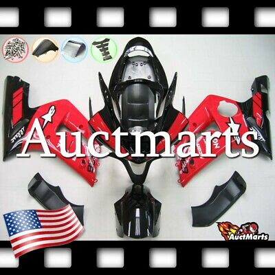 $579 • Buy For Kawasaki Ninja ZX6R 636 2003 2004 03 04 Injection Mold Fairing Kit 3a35 PE