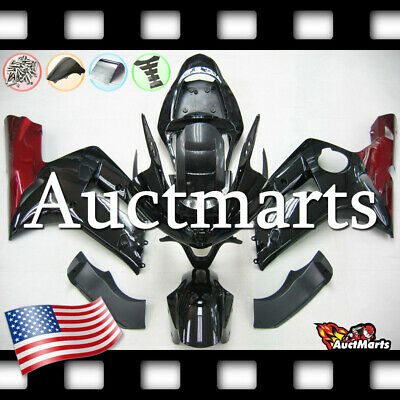 $579 • Buy For Kawasaki Ninja ZX6R 636 2003 2004 03 04 Injection Mold Fairing Kit 3a14 PE