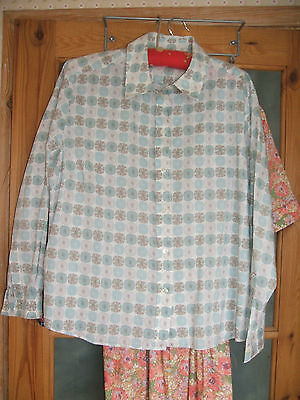 Cotswold Collection Blouse Tana Lawn Cotton Shirt  S 20 50  Chest  Long Sleeves  • 29£