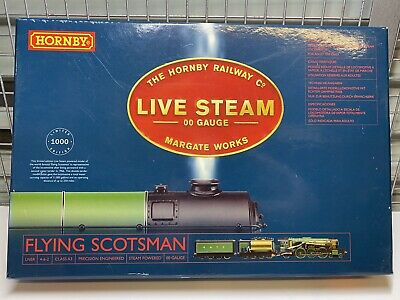 Hornby R2566 Class A3 Double Tender 'Flying Scotsman' Live Steam Locomotive Set • 749£