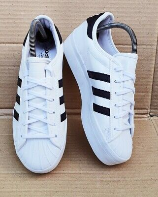 AU115.62 • Buy New Adidas Superstar Rize Trainers White And Black Size 5.5 Uk Platform Sole
