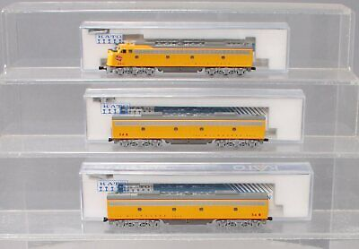 AU230.07 • Buy Kato N Scale Milwaukee Road Diesel Locomotive - 1 A Unit, 2 B Units EX/Box