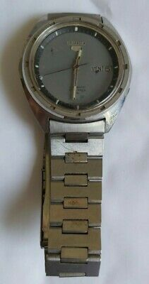 $ CDN1.56 • Buy Seiko 5 Vintage Man Watch Automatic 41mm Works Good