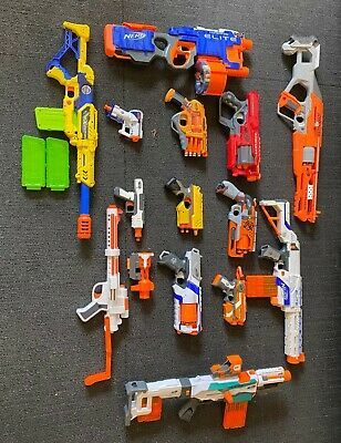 AU150 • Buy Assorted Nerf Guns, All In Working Condition, Come With Filled Magazines.