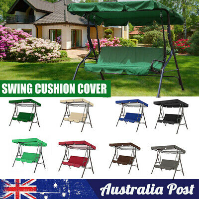 AU45.99 • Buy Swing Chair Hammock Outdoor Furniture Garden Canopy 3 Seater Cushion Seat