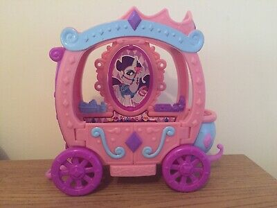 My Little Pony G4 Rarity's Royal Gem Carriage HASBRO 2010 Excellent Condition • 15£