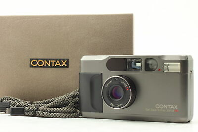 $ CDN1499.75 • Buy [Near MINT In Box] Contax T2 Titan Black 35mm Point & Shoot Film Camera JAPAN