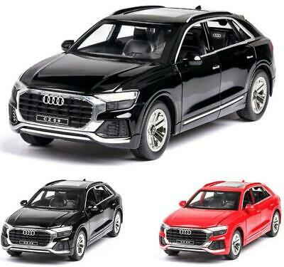 $ CDN39.36 • Buy 1:24 Audi Q8 Car Collection Model Alloy Metal Children Gifts Toy Simulation