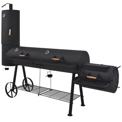 £1223.96 • Buy Outdoor BBQ Smoker Large Grill Barbecue Smocking Garden Charcoal Food Cooking