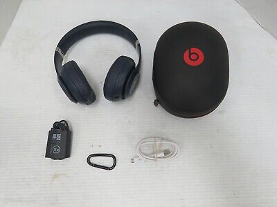 $ CDN0.01 • Buy Beats By Dr. Dre Studio3 Over The Ear Wireless Headphones - Blue (S332)