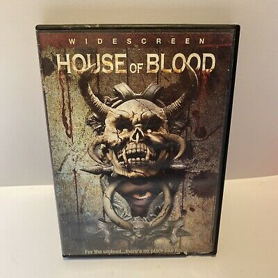 £14.12 • Buy House Of Blood (Chain Reaction)(Widescreen DVD, 2005) Olaf Ittenbach Blockbuster