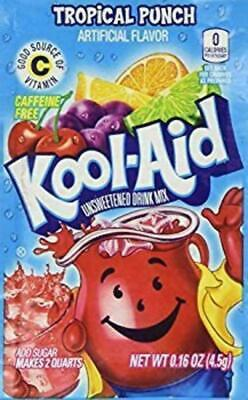 £7.90 • Buy Kool Aid Drink Mix Powdered Envelope Tropical Punch 6 Ct