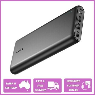 AU112.99 • Buy ANKER Power Bank, PowerCore 26800mAh Portable Charger | 3 USB Outport - Black