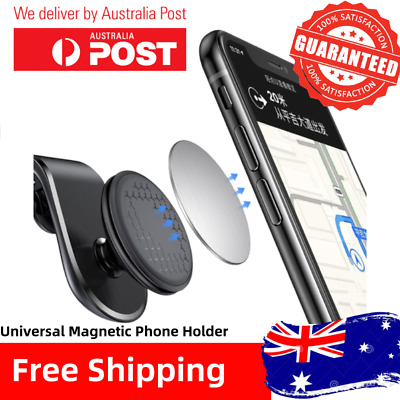AU14.99 • Buy 360° Rotating Phone Holder Car Magnetic Mount Stand Universal For All Phones
