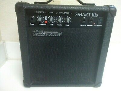 $ CDN114.73 • Buy SILVERTONE Guitar Amplifier - Smart IIIs Amp - 26 Watts 5.5  Speaker