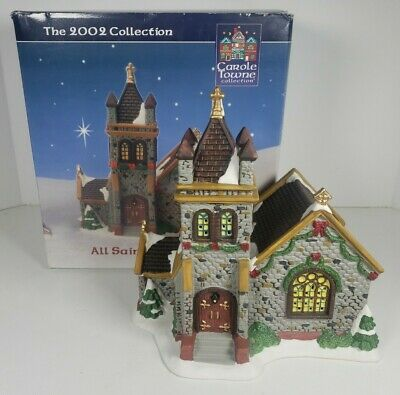 $ CDN30.35 • Buy Carole Towne All Saints Cathedral Lighted House 2002 Lemax #MA22084F W/Box