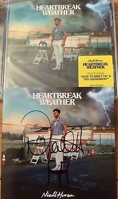 £80 • Buy Niall Horan-heartbreak Weather Signed Cd- Proof Provided-one Direction-1d