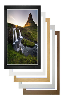 £9.99 • Buy Bespoke Any Size Photo Picture Frame Wall Hanging Poster Frame Acrylc Glass