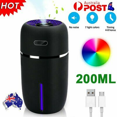 AU21.96 • Buy 2021 Ultrasonic Aroma Diffuser USB Car LED Air Purifier Essential Oil Humidifier